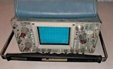 Vintage Tektronix 465 B Oscilloscope Scope Broadcast Test Gear Needs Repair