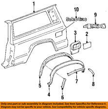 Jeep CHRYSLER OEM 84-96 Cherokee Fender-Wheel Well Flare Retainer 55003240