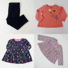 Girls First Impressions Play 4 Items Lot: 3 Shirt Tops Long Sleeve 1 PantLeggins