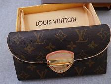 ===Louis Vuitton=== Monogram Eugenie Organizer Canvas Long Wallet