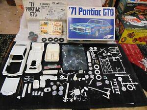 MPC 1971 Pontiac Tempest GTO Hardtop Annual 1-7111 For Parts or Repair