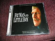 Fat Man and Little Boy Ennio Morricone [Audio CD] Lala Land  2 CD set OOP
