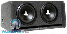 "JL AUDIO CP210-W0V3 10"" 10W0V3-4 LOADED SUBWOOFERS PORTED ENCLOSURE BASS BOX NEW"