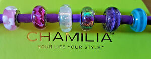 Chamilia Charms Murano Glass Beads with Sterling Silver 925 Sold Seperately