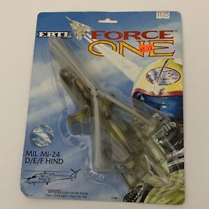 Ertl Force One Diecast Russian Mi-24 Hind D/E/F Attack Helicopter