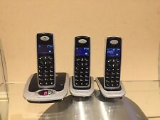 Motorola Phones With Answering Machine 3 Handsets With Base Units