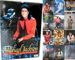 Michael Jackson Calendrier 1990 Calendar Kalender Poster Posters OFFICIAL