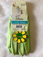 Midwest 7791 Ladies Jersey 'N More GreenGloves with Invisible Grip.New with Tags