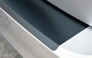 Ladekantenschutz für RANAULT ZOE ab2019 Schutzfolie Schwarz Matt 160µm
