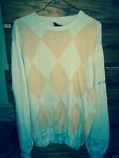 Mens Burberry Golf Sweater Large