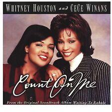 WHITNEY HOUSTON & CECE WINANS Count on Me [Maxi Single] CD