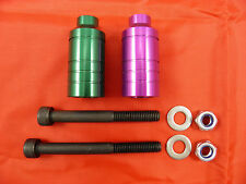 2 x  SCOOTER ALLOY GRIND PEGS *NEW* WILL FIT MOST SCOOTERS
