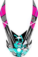 SKI DOO REV XP SNOWMOBILE SLED GRAPHICS DECAL Sticker Hood Killer Bee Girls Pink