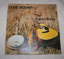 LP: The Sykes Boys - Dixie Bound SIGNED by band members