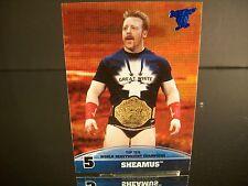 Sheamus Topps 2013 Card #5 Top Ten World Heavyweight Champions