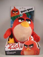 """Angry Birds """"Red"""" Plüsch-Figur Rovio Film Anhänger Keychain Stofftier Rot"""