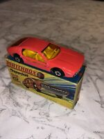 Matchbox Superfast No 20  Lamborghini Marzal; Mint condition; with box; pink.