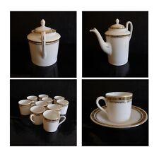 Service Tea Coffee Porcelain Art Nouveau EPIAG Royal Czechoslovakia N3748