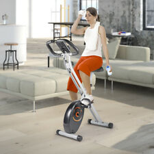 Folding Cycling Exercise Bike Stationary Fitness Cardio Indoor Home Workout Gym