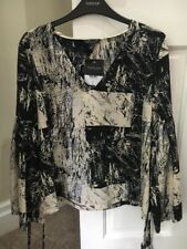 Topshop Size 10 Blouse New With Tags