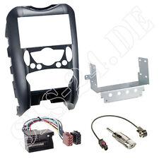 DOPPEL 2-DIN Blende BMW MINI R55 R56 R57 ab06 + ISO Radioadapter Antenne Stecker