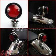 LED Brat Anodized Black Tail Light For Cafe Racer Street Fighter Bobber Chopper