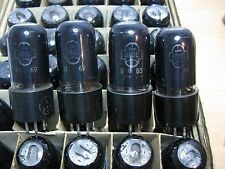 10 Pcs 6P6S / 6V6 / 6AY5 / 587 (6П6С) 1960's Soviet Tetrode Tubes New NOS