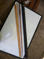 Vintage 9 Ft Bamboo or Cane Wood Fly Rod 3 Piece w/Reel Seat NICE