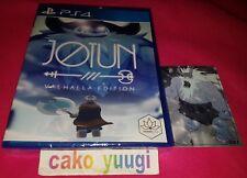 JOTUN VALHALLA EDITION SONY PS4 VERSION US LIMITED RUN #76 + CARD NEW 4800 EX