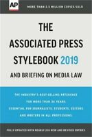 The Associated Press Stylebook 2019: And Briefing on Media Law (Paperback or Sof