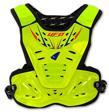 UFO Reactor 2 Evolution Adult Chest Protection - Fluorescent Yellow SX 125 Sx150