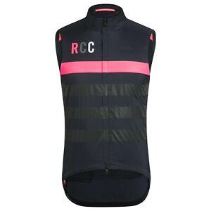NEW Rapha RCC Men's Cycling Gilet Vest Pro Team Polartec Insulated M Black Pink