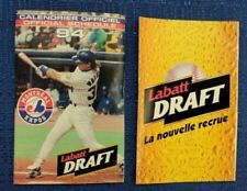 Montreal Expos Baseball Vintage Sports Schedules for sale | eBay