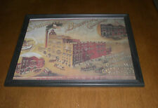 SPRINGFIELD BREWING COMPANY FRAMED COLOR AD PRINT