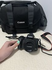 canon eos m50 mirrorless digital camera, Lens, Mount Adapter, Shoulder Bag
