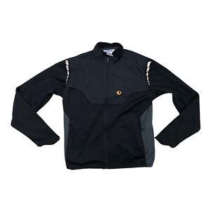 Pearl Izumi Mens Cycling Sweater Jacket Zip Size Medium Black S2