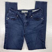 Bullhead Womens Skinny Skinniest Low Rise Jeans Size 1 Short Blue Stretch