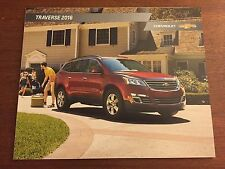 2016 Chevy Traverse 28-page Original Sales Brochure