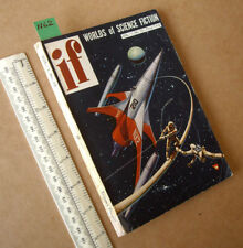 IF -  SF PB Digest V1#10 UK Ed 1950s era 1/6d Price. Great Spaceship Cover.
