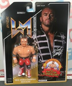 Chella Toys Wrestling Megastars Retro Hasbro Style Series 1 Nick Aldis Figure