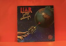 LIAR - SET THE WORLD ON FIRE - BEARSVILLE 1978 - PROMO - EX VINYL LP RECORD -T