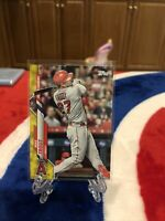 2020 TOPPS UPDATE WALGREENS YELLOW PARALLEL MIKE TROUT CARD # U292 SP