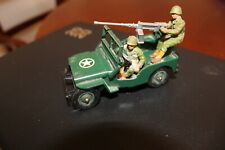 VINTAGE BRITAINS 1/32 LTD96O 1976'S 9786 ENGLAND JEEP AND CREW US HJ-5 MILITARY