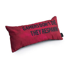 Red RESPAWN 'Game Over' Gaming Cushion Boys Room Xbox PS4 Nintendo Switch