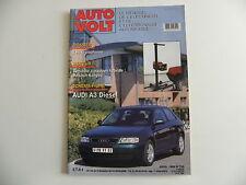 revue automobile AUTO VOLT schéma-fiche AUDI A3 diesel n° 755
