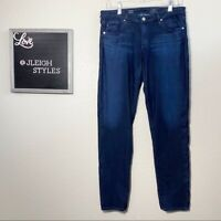 AG Adriano Goldschmied The Stilt Cigarette Leg Dark Wash Skinny Jeans 31