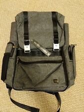 NWT Ju-Ju-Be XY Collection Hatch Backpack Diaper Bag Gray Matter backpack