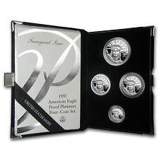 1997-W 4-Coin Proof Platinum American Eagle Set (w/Box & COA) - SKU #12219