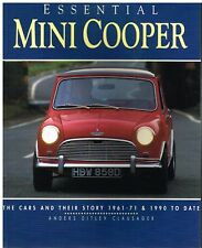 MINI COOPER & S / ROVER MINI COOPER & S '61-71 & '90-97 PRODUCTION HISTORY BOOK
