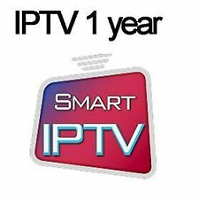 IPTV 1 YEAR FHD & 4K - iOS, Android, PC, Mac, Smart TV